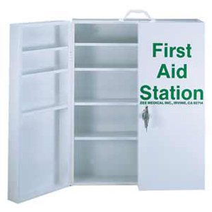 first aid cabinet aid cabinets and kits 15455